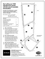 Merchandiser assembly instructions