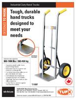Zinc hand truck sell sheet