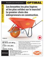 TUFX Best wheelbarrows sellsheet download