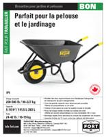 TUFX Good wheelbarrows sellsheet download