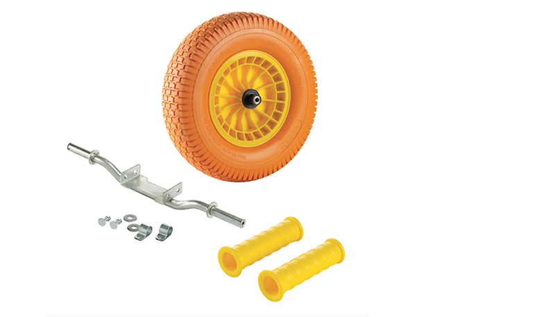 Wheelbarrow accessories